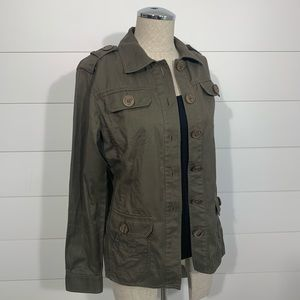 CAbi Green Military ambush Jacket Style #493